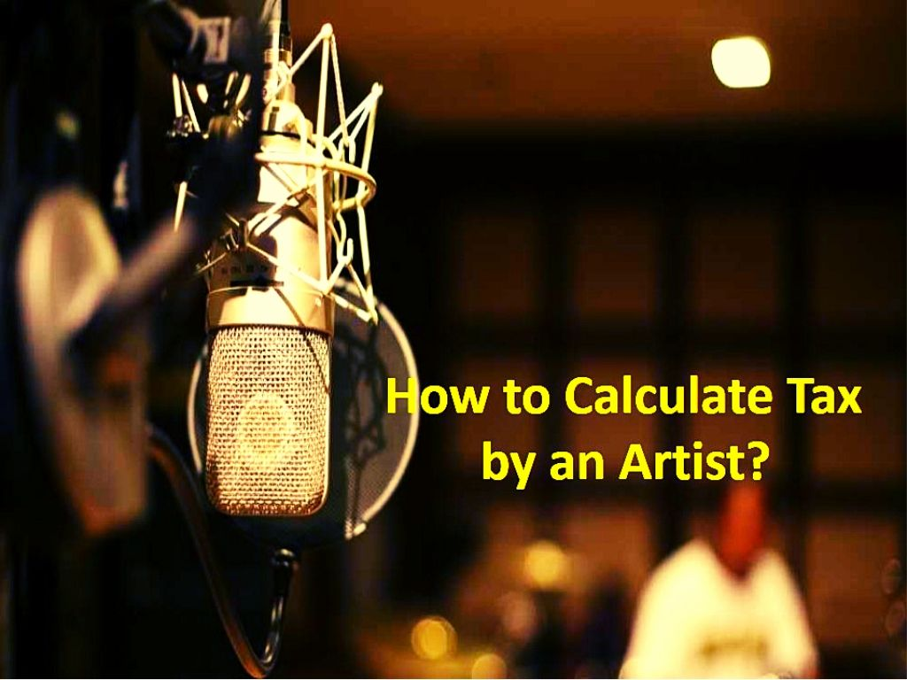 Tax Calculation by Artist