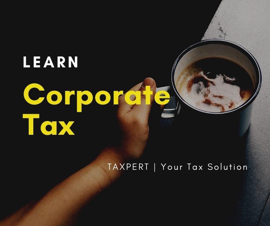 Corporate Tax Training Online